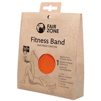 Fair Zone Fitness Band Red Resistance Bands Fair Trade Pravera