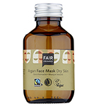 Fair Squared Argan Facial Mask Fluid for Dry Skin with Fairtrade Ingredients
