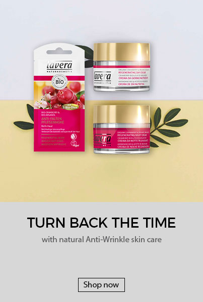 Lavera Natural and Organic Skin Care - Tun back the time with natural anti-wrinkle skin care