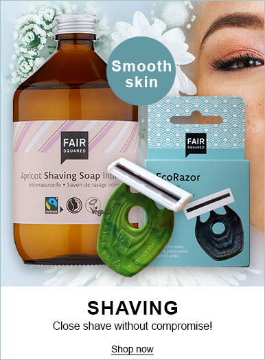 Fair Squared 100% Natural Fairtrade Skincare - Shaving Range