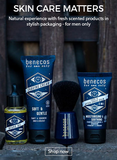 Benecos Natural Beauty - Natural and Organic Skincare for Men
