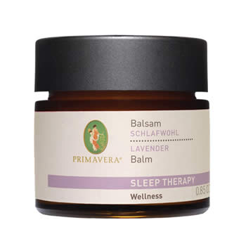 primavera life sleep therapy lavender balm 25ml organic