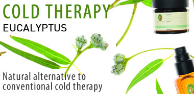 Primavera certified natural aromatherapy - Cold Therapy with Eucalyptus