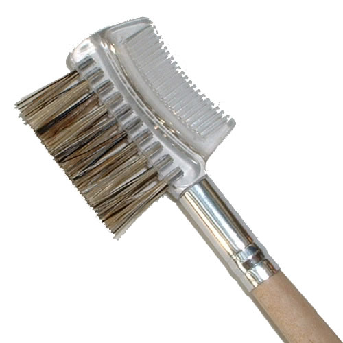 Eyebrow Brush Natural Wood Kost Kamm
