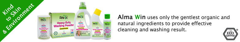 Alma Win - Natural Cleanliness : Certified Organic Household Cleaners