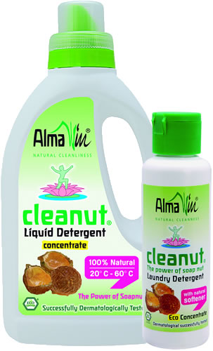 Alma Win - Certified Organic Household Cleaners - Ecological Washing Soap Nut