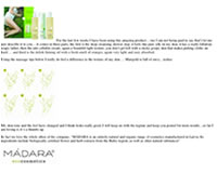 Madara eco cosmetics & skincare - Anti-cellulite Set - Fights against cellulite and stretch marks