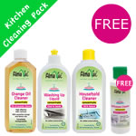 Alma Win Certified Organic Household Cleaner - Kitchen Special Pack with free trial cleaner
