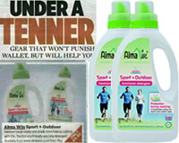 Alma Win Certified Organic Household Cleaning Products - NEW Spots + Outdoor Functional Detergent
