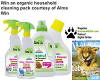 Alma Win Certified Organic Household Cleaning Products - Win an organic cleaning pack